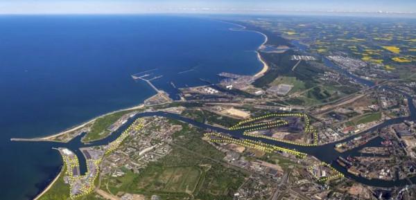 Tereny i nabrzeża, na których operuje PGE.