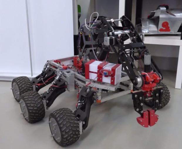 Marsjański łazik to projekt Stowarzyszenia Robotyków SKALP.