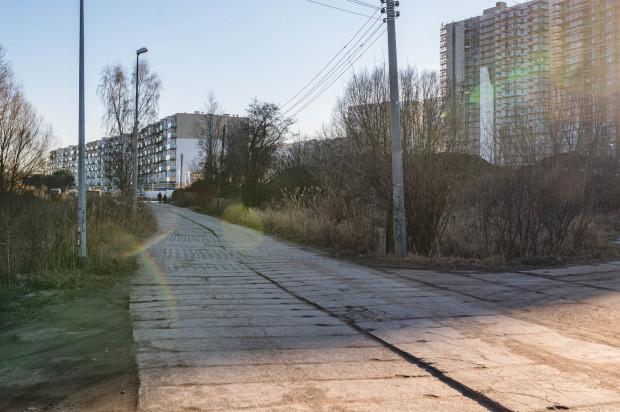 Tak natomiast wygląda ul. Starowiejska, która łączy się z ul. Letnicką.