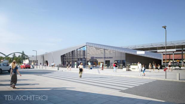 Tak po przebudowie będzie prezentował się dworzec PKP we Wrzeszczu.