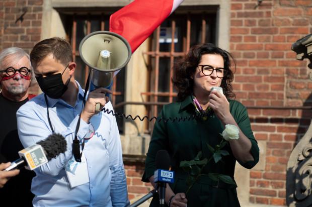 Wiec demokracji organizowany przez władze Gdańska w kontrze do manifestacji Młodzieży Wszechpolskiej.