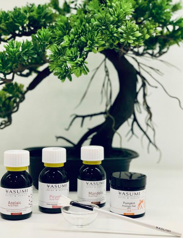 Rodzaj kwasu jest dobierany w zależności od potrzeb cery.