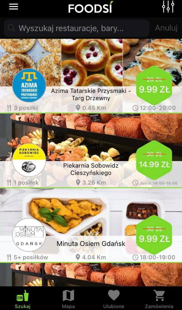 Aplikacje pomagają walczyć z marnowaniem żywności.