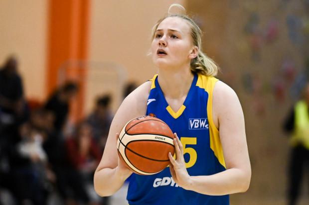 Joanna Grymek w ostatnim meczu sezonu zaliczyła double-double, czyli uzyskała dwucyfrowy wynik w punktach i zbiórkach.