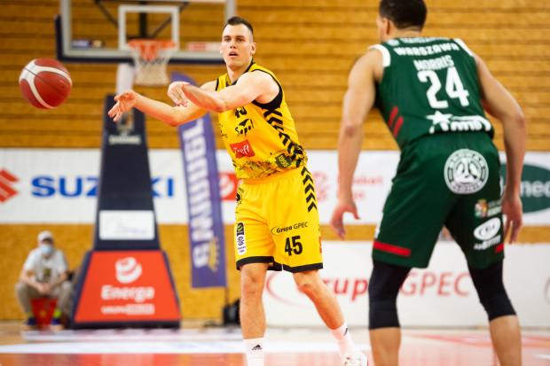 Nikola Radicević (nr 45) w debiucie w Treflu Sopot nie zdobył punktu.