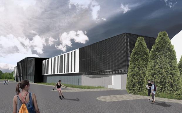 Tak będzie wyglądało Centrum Sportowe Uniwersytetu Gdańskiego.