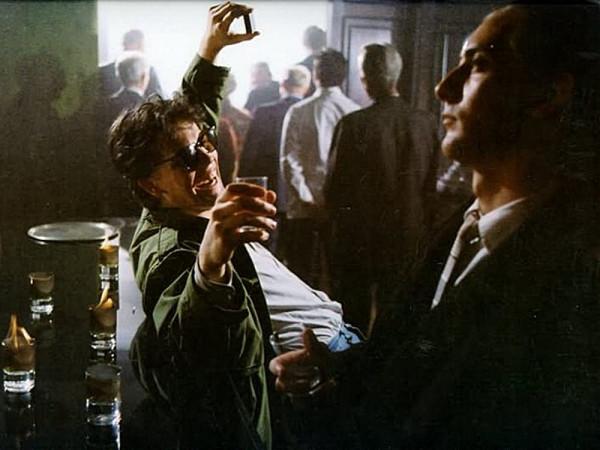 """Tomasz Konieczny i Rafał Królikowski w filmie """"Pierścionek z orłem w koronie""""(1992 r.)."""