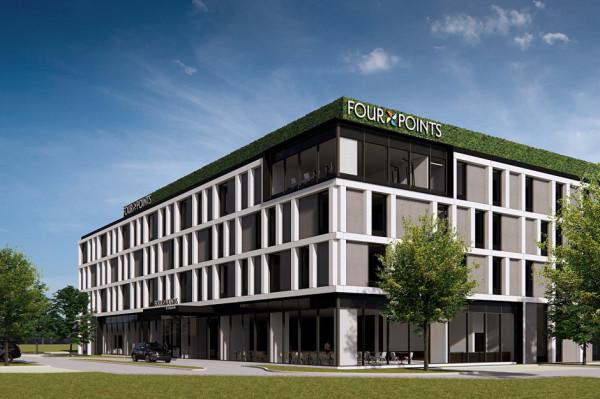 W hotelu Four Points by Sheraton Gdańsk powstaną 123 pokoje o standardzie czterech gwiazdek.
