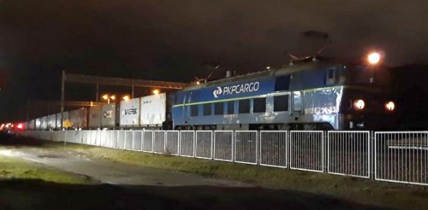 Najcięższy w historii polskiego kolejnictwa pociąg kontenerowy przyjechał do terminalu DCT.