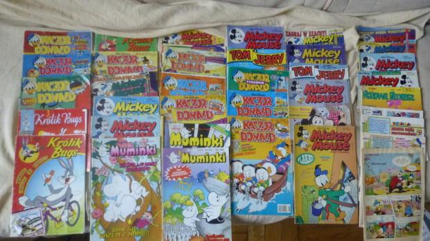 Dzieciaki w latach 90. zaczytywały się w komiksach.