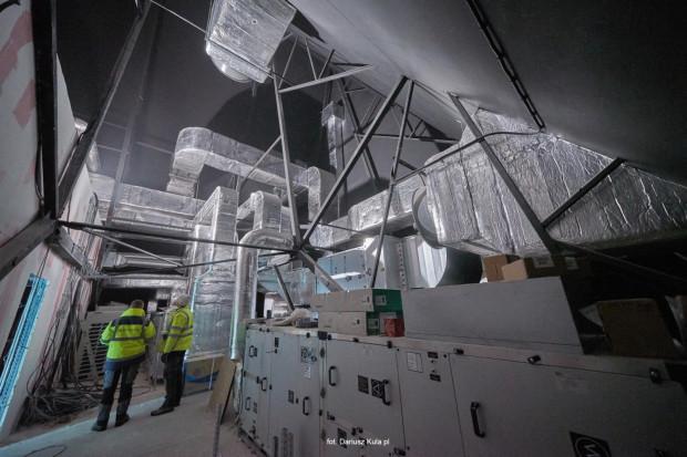 Trwają prace wykończeniowe w Muzeum Bursztynu w Wielkim Młynie.