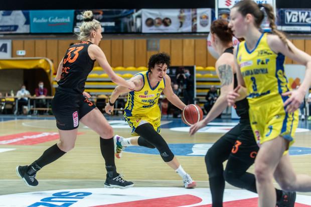 Artemis Spanou zdobyła w niedzielę 21 pkt i 12 zbiórek dla VBW Arki Gdynia.