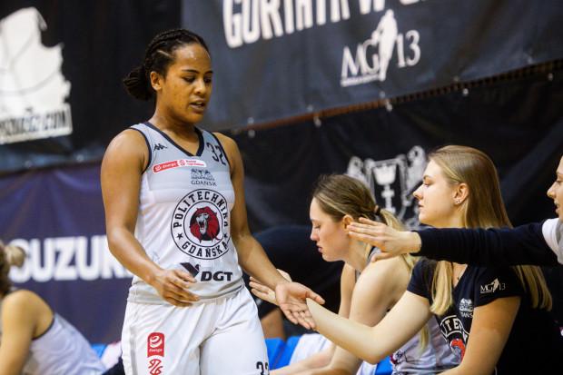 Jazmine Davis w pierwszej połowie meczu zdobyła 15 pkt, ale po przerwie dołożyła tylko 5.