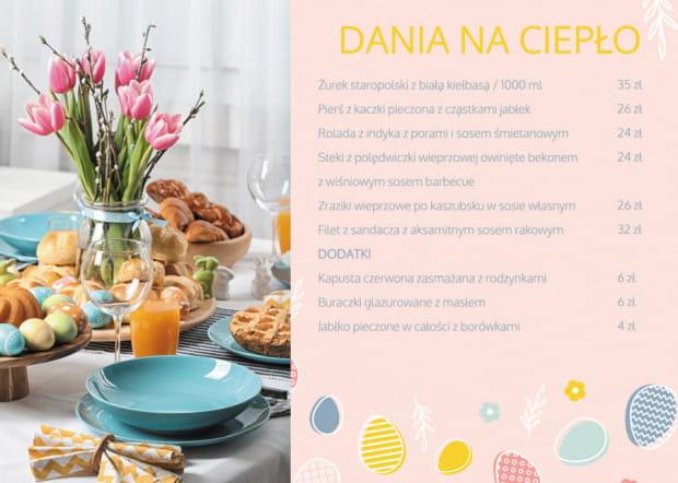 Wielkanocna oferta od BanGlob catering.