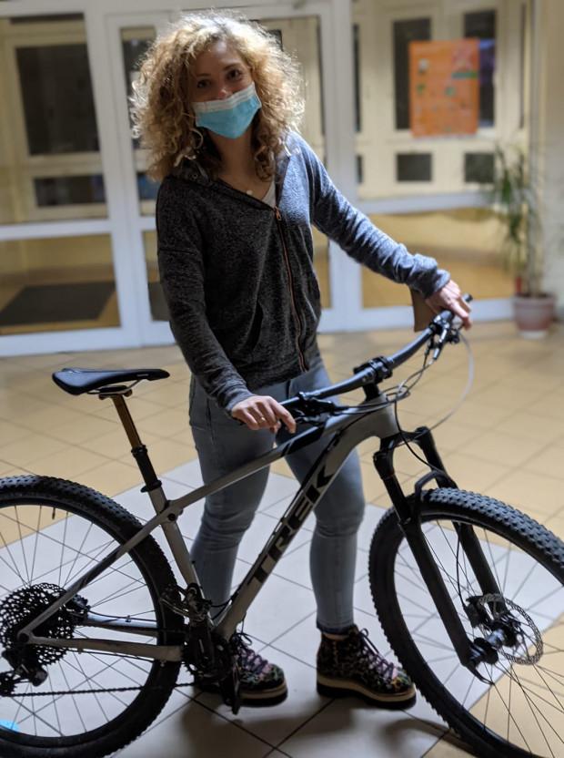 Skradziony po raz drugi i drugi raz odzyskany - rower górski pani Pauliny zdaje się wyjątkowo przyciągać złodziei.
