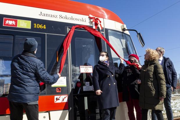 To już 65. gdański tramwaj, który ma swojego patrona.