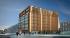 Chmielna Office Park będzie lekko nawiązywać do kształtu śródmiejskich kamieniczek.