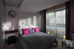 Pokój różowy w Soleil Boutique Hôtel