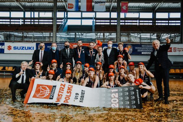 Koszykarki GTK Gdynia zdobyły mistrzostwo Polski U-19.