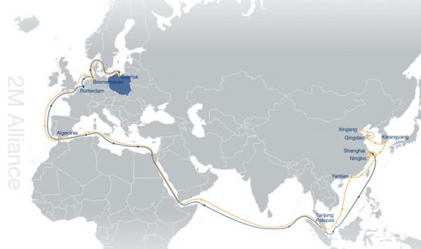 Trasa oceaniczna Alians 2M.
