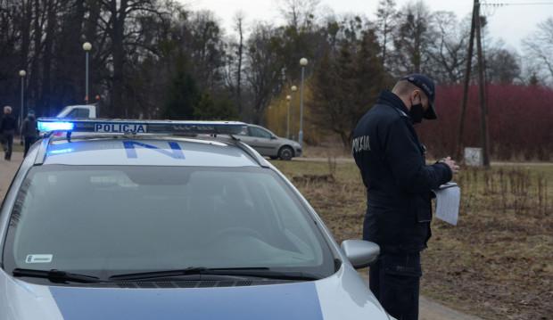 W połowie marca policja pojawiła się w parku Steffensów na wezwanie dotyczące nielegalnej wycinki drzew. Teraz bada sprawę samochodu jeżdżącego po tamtejszych alejkach.