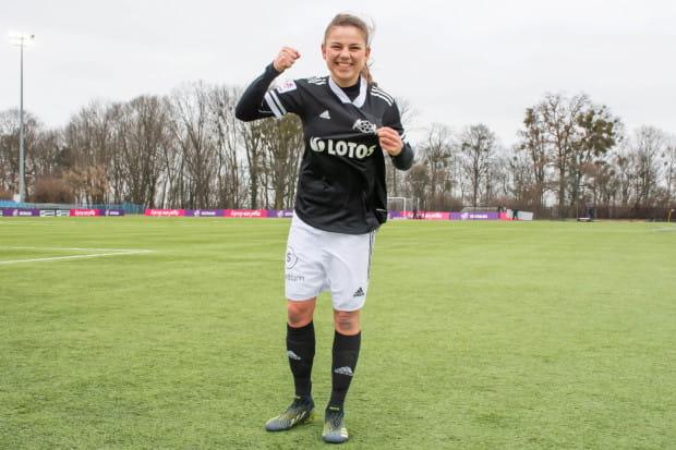 Aleksandra Rompa grała w Juventusie w latach 2018-2020. Zimą tego roku wzmocniła AP Lotos Gdańsk.