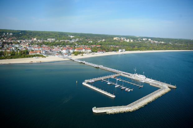Marina przy sopockim molo została otwarta w lipcu 2011 r.