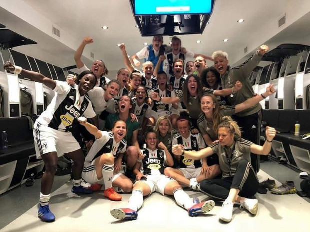 Mecz piłkarek Juventusu Turyn na Allianz Stadium w 2019 roku, o którym wspomina Aleksandra Rompa.
