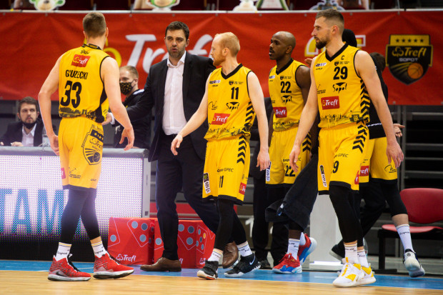 """Jeśli Trefl Sopot awansuje do półfinału fazy play-off, to rozegra ją w specjalnej """"bańce"""" wraz z innymi zespołami."""