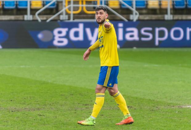 Haris Memić był podstawowym obrońcą Arki Gdynia  od czasu, gdy Michał Marcjanik doznał kontuzji w pucharowym meczu z Puszczą Niepołomice.