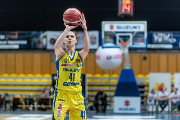 Barbora Balintova była najlepszą zawodniczką VBW Arki w pierwszym półfinałowym meczu z Basketem Bydgoszcz. Kapitan żółto-niebieskich zdobyła 25 punktów.