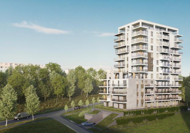 Port Deco na Oksywiu będzie budynkiem 12-kondygnacyjnym. Z części mieszkań rozciągała się będzie panorama gdyńskiego portu.