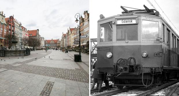 Nie będzie torów tramwajowych na Długim Targu, za to będzie odnowiony historyczny skład SKM - to efekt kompromisu zawartego między urzędnikami.