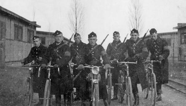 Oddział Selbstschutzu działający na Pomorzu w 1939 r. Ze zbiorów IPN Gdańsk