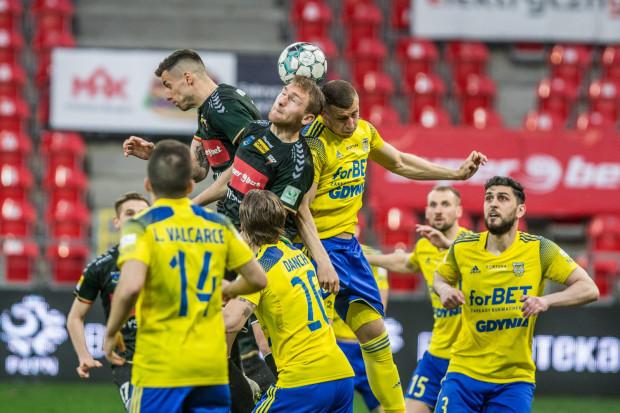 Arka Gdynia w tym sezonie ani razu nie potrafiła odwrócić losów spotkania, gdy jako pierwsza straciła gola.