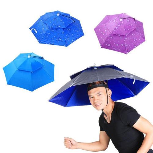 Parasol w wersji kapelusza...