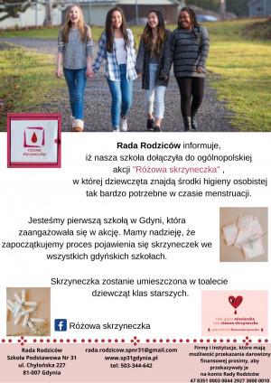 SP 31 w Gdyni to pierwsza szkoła w tym mieście, która włączyła się do akcji.