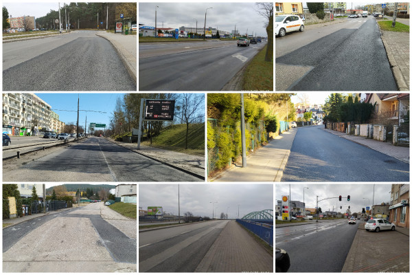Remontowane są zarówno główne ciągi komunikacyjne, jak i osiedlowe uliczki.