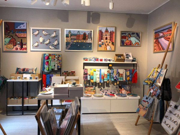 Atelier Magdy Benedy to część Galerii Sztuk Różnych.