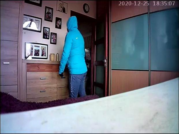 Ujęcie kobiety było możliwe, bo jedna z okradanych rodzin założyła w domu kamery, które zarejestrowały kradzież.