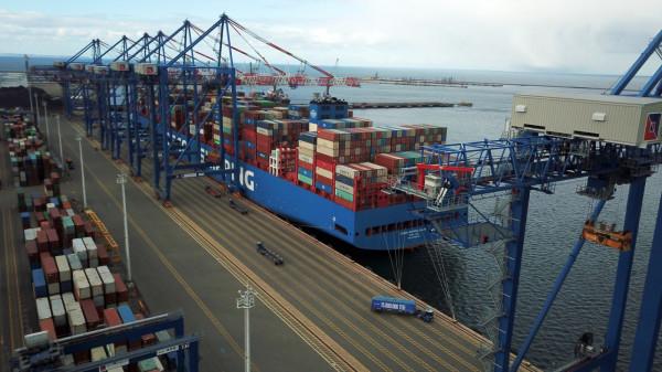 15-milionowy kontener wyruszy do Azji na pokładzie COSCO Shipping Galaxy.