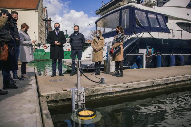 Fundacja Mare przekazała miastu drugi pływający kosz.