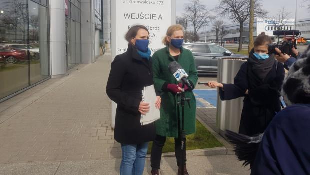 Agnieszka Pomaska i Barbara Nowacka - posłanki Koalicji Obywatelskiej, chcą natychmiastowej kontroli Urzędu Kontroli Energetyki i Urzędu Ochrony Konkurencji i Konsumentów w spółce Energa Obrót.
