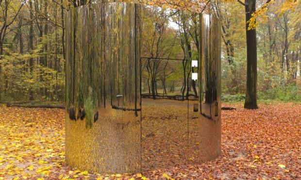 Jedną z sugestii jest stworzenie szklanych toalet, które wtopiłyby się w otoczenie.