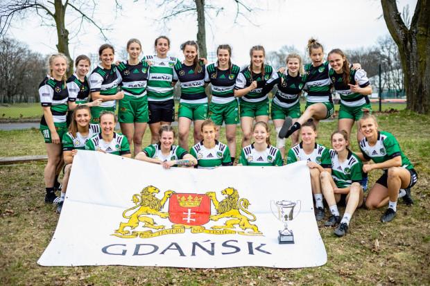 Biało-Zielone Ladies Gdańsk na turnieju w Warszawie.