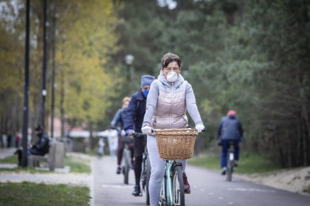 Działania proekologiczne, takie jak jazda na rowerze, będą premiowane. Projekt nie zakłada jednak czerpania korzyści finansowych.