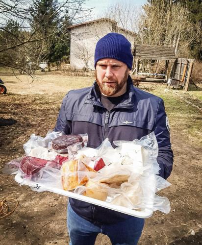 Przedstawiciele trójmiejskiej gastronomii odwiedzili gospodarstwo Kaszubska Koza