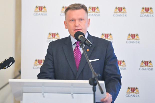 Waldemar Ossowski, dyrektor Muzeum Gdańska, podczas konferencji prasowej w Ratuszu Głównego Miasta podsumował dotychczasową działalność Muzeum Bursztynu.