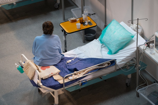 Gdański szpital tymczasowy pierwszych pacjentów przyjął w poniedziałek, 8 marca.
