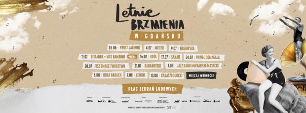 Line-up wydarzenia prezentowany przez organizatorów.